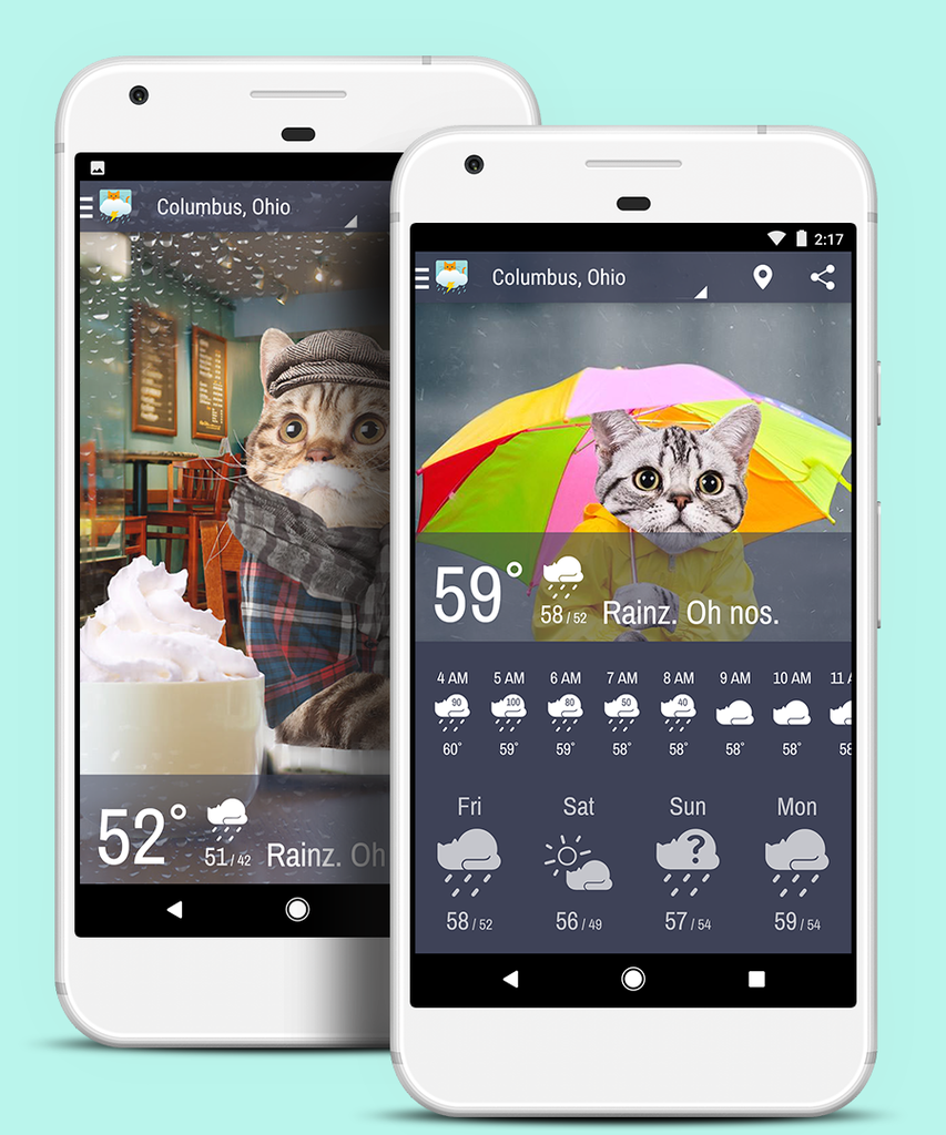 Weather Whiskers Android App